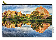 Carry-all Pouch featuring the photograph Colorful Colorado by OLena Art Brand