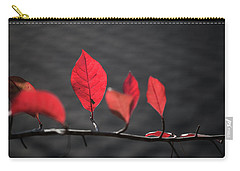 Colorful Tree Leaves Changing Color For Auyumn,fall Season In Oc Carry-all Pouch