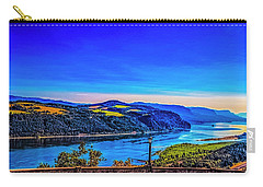 Columbia River Gorge Carry-all Pouch by Nancy Marie Ricketts