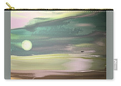 Coming Up On Dawn Carry-all Pouch by Lenore Senior