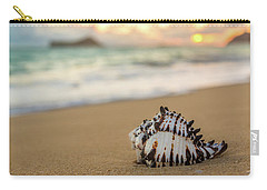 Conch Shell At Sunrise Carry-all Pouch