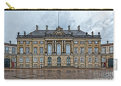 Carry-all Pouch featuring the photograph Copenhagen Amalienborg Palace by Antony McAulay