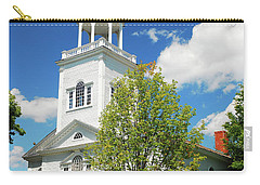 Country Church Carry-all Pouch by James Kirkikis