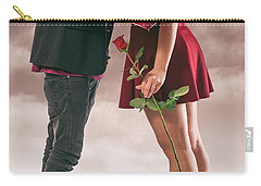 Carry-all Pouch featuring the photograph Couple Of Sweethearts by Carlos Caetano