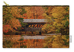Covered Bridge At Sturbridge Village Carry-all Pouch
