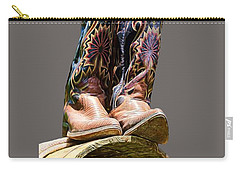Cowboy Boots  Carry-all Pouch