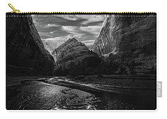 Carry-all Pouch featuring the photograph Coyote Gulch by Dustin LeFevre
