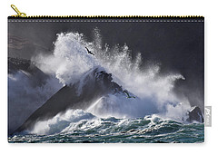 Crashing Wave At Clogher Carry-all Pouch