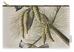 Crested Titmouse Carry-all Pouch