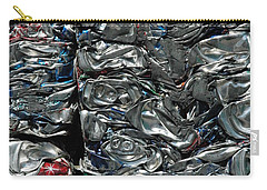Crushed Cans Carry-all Pouch