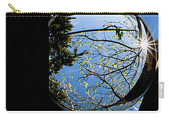 Crystal Reflection Carry-all Pouch by Deborah Klubertanz