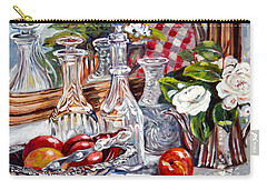 Crystal Reflections Carry-all Pouch by Alexandra Maria Ethlyn Cheshire