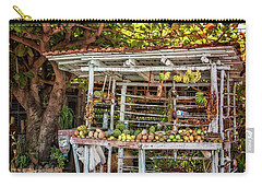 Carry-all Pouch featuring the photograph Cuban Fruit Stand by Joan Carroll