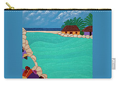 Curacao Lagoon Carry-all Pouch