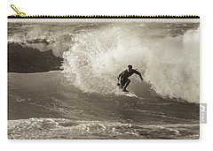 Carry-all Pouch featuring the photograph Curl by Alex Lapidus