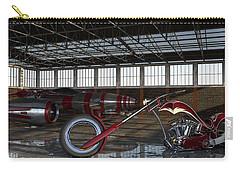 Custom Chopper  Carry-all Pouch by Louis Ferreira