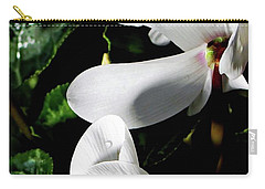 Carry-all Pouch featuring the photograph Cyclamen by Mindy Newman