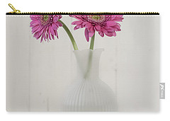 Carry-all Pouch featuring the photograph Gerbera Daisy Love by Kim Hojnacki