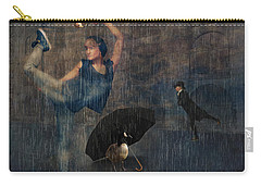 Dancing In The Rain Carry-all Pouch