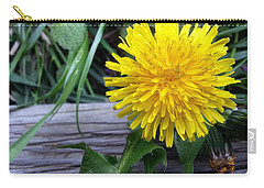 Carry-all Pouch featuring the photograph Dandelion by Robert Knight