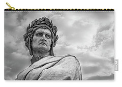 Carry-all Pouch featuring the photograph Dante Alighieri by Sonny Marcyan