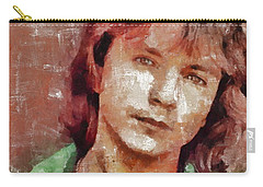 David Cassidy, Singer And Actor Carry-all Pouch by Mary Bassett