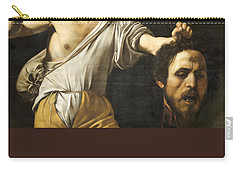 David With The Head Of Goliath Carry-all Pouch