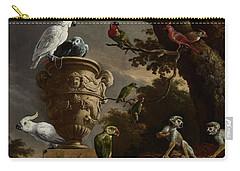 De Menagerie Carry-all Pouch by Melchior d'Hondecoeter