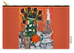 Dead Roses Carry-all Pouch by Tamara Savchenko