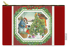 Decorating The Tree Carry-all Pouch