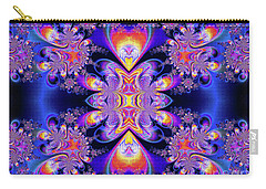 Carry-all Pouch featuring the digital art Deep Heart by Ian Mitchell