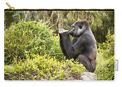 Deep In Thought Carry-all Pouch by Ricky Dean