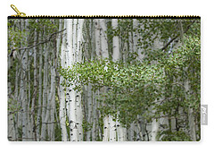 Delicate Aspens. Colorado Carry-all Pouch
