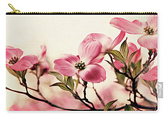 Carry-all Pouch featuring the photograph Delicate Dogwood by Jessica Jenney