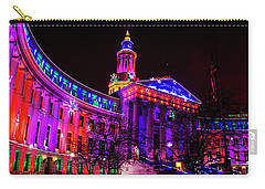 Denver City And County Building Holiday Lights Carry-all Pouch