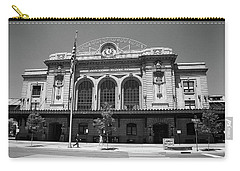 Denver - Union Station Film Carry-all Pouch by Frank Romeo