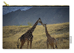 Desert Palm Giraffe 001 Carry-all Pouch