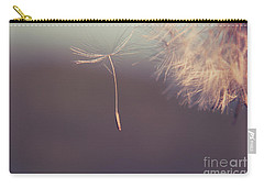 Carry-all Pouch featuring the photograph Detachement by Aimelle
