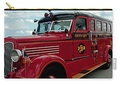 Detroit Fire Truck Carry-all Pouch