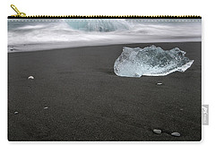 Diamonds Floating In Beaches, Iceland Carry-all Pouch
