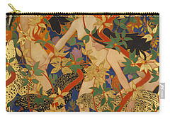 Diana And Her Nymphs Carry-all Pouch by Robert Burns