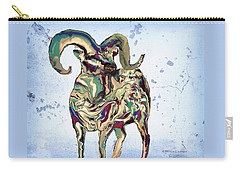Digital Bighorn Ram Carry-all Pouch
