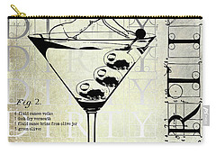 Dirty Dirty Martini Patent Carry-all Pouch by Jon Neidert