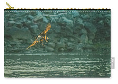 Carry-all Pouch featuring the photograph Diver Down by Jeff at JSJ Photography
