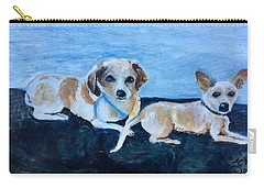 Dogs Resting Carry-all Pouch