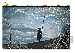 Don Quijote Carry-all Pouch by Edwin Alverio