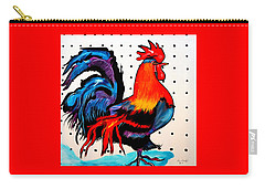 Doodle Do Rooster Carry-all Pouch