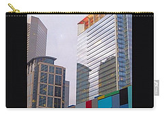 #downtown #houston From #discoverygreen Carry-all Pouch by Austin Tuxedo Cat