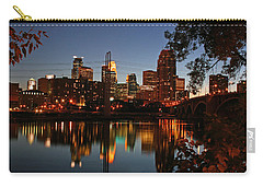 Downtown Minneapolis At Night Carry-all Pouch