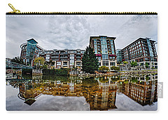 Downtown Of Greenville South Carolina Around Falls Park Carry-all Pouch by Alex Grichenko